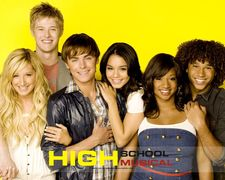 What's the mascot of the East High, the school HSM series is set in?