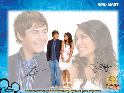 hsm troy and gabriella first meet