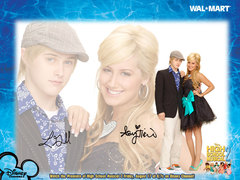 Ashley Tisdale (Sharpay Evans) has worked in which other Disney series?