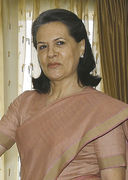 President of the Indian National Congress :- Sonia Gandhi