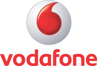 What is the Tagline of Vodafone?