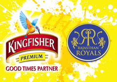 The Rajasthan Royals Hangman by Kingfisher