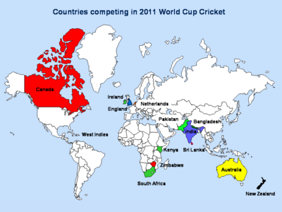 Cricket world cup 2011: Questions
