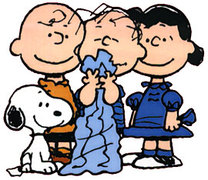 For which car company's promotion comic strip character  THE PEANUTS was created ?