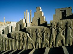 Which city did the Persians rule from about 550 B.C to 330 B.C ?