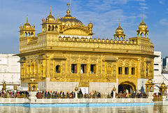 Golden Temple is situated in