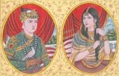 What was the name of the Hindu princess from the Rajput warrior clan with whom Akbar married?