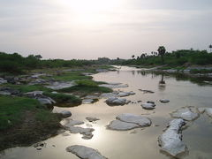 Coimbatore is located on the banks of the______________river.