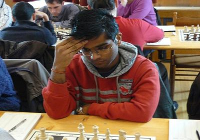 Indian at 13th place in Grand Europe Albena Chess tournament 2013