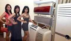 Which Chinese air conditioner maker has entered the Indian Market  through a tie-up with Servomax?