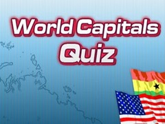 World Capitals Quiz Hangman