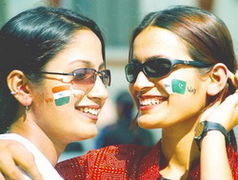 Clash of the rivals - Indian V/S Pakistan.