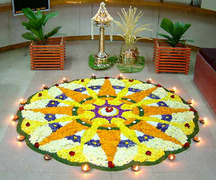 The last day of the Onam festival is called