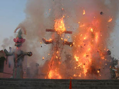 Dussehra is a very popular festival of?